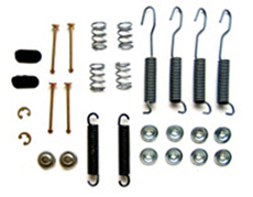 1963-70 BRAKE HARDWARE KIT, REAR (does 2 wheels)