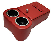 1963-76 FLOOR CONSOLE RED