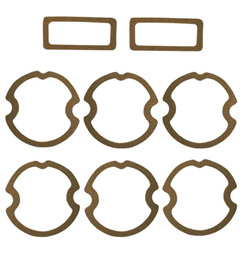 1963 PARKING/TAIL LIGHT LENS GASKETS