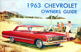 1963 OWNERS MANUAL (ea)