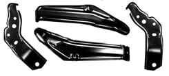 1963 BUMPER ARM BRACKETS, REAR