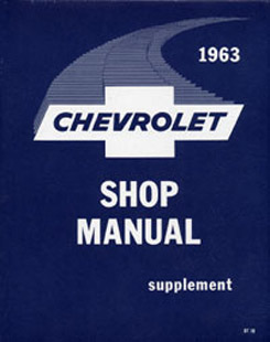 1963 SHOP MANUAL SUPPLEMENT (ea)
