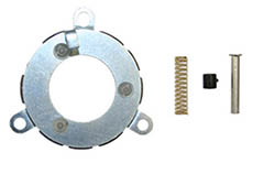 1964-66 HORN CONTACT KIT, SPORT WOOD WHEEL(EA)