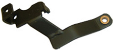 1964-67 AUTOMATIC TRANSMISSION SHIFT BRACKET, FLOOR SHIFT, POWER GLIDE