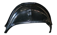 1965-66 COMPLETE OUTER & INNER WHEEL HOUSING, REAR RIGHT 2 DR HT