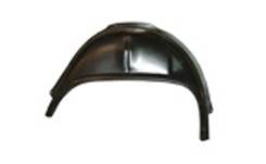 1965-66 OUTER WHEEL HOUSING, REAR RIGHT 2 DR HT