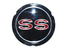 1965-66 WHEEL COVER EMBLEM, SS