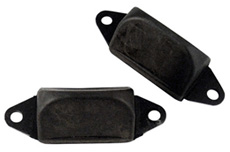 1965-70 REAR AXLE BUMPERS (pr)