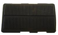 1965-70 DELUXE BRAKE PEDAL PAD, AUTOMATIC