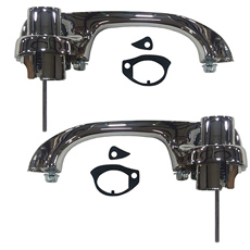 1965-1970 DOOR HANDLES,REAR 4 DOOR