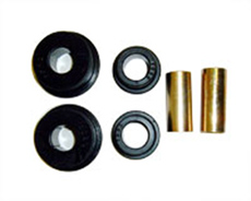 1965-70 REAR PANHARD/SWAY BAR BUSHINGS (one bushing larger than the other) (set)
