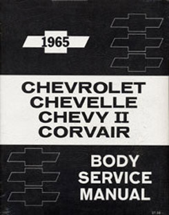 1965 FISHER BODY MANUAL (ea)