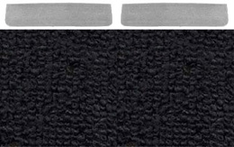 1965 DOOR PANEL CARPET, IMPALA SS, BLACK