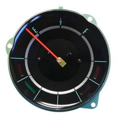 1965 FUEL GAUGE WITH TEMP AND ALT WARNING LIGHTS
