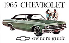 1965 OWNERS MANUAL (ea)