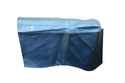 1965 REAR ARM REST COVERS, 2DR HT, IMPALA, SS,  2 TONE BLUE