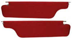 1965 SUNVISOR, COUPE, STAR, RED