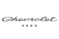 "1965 TRUNK MOULDING EMBLEM, ""CHEVROLET"""