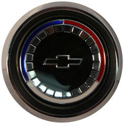 1965 HORN BUTTON, WOOD WHEEL