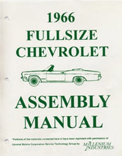 1966 ASSEMBLY MANUAL (ea)