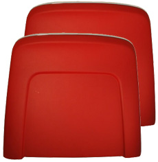 1966 BUCKET SEAT BACKREST PANEL, RED