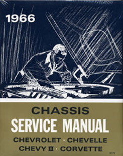 1966 SHOP MANUAL (ea)