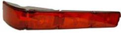 1966 TAILLIGHT LENS, CAPRICE, LEFT