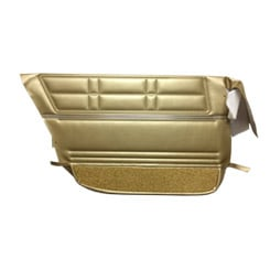 1967 DOOR PANELS, REAR, 4 DR SEDAN GOLD