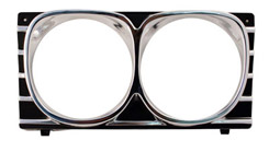 1967 HEADLIGHT BEZEL