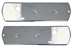 1968 ARM REST BASE BACKING PLATE, 2 DR