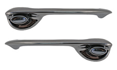 1969-1970 DOOR HANDLES, FRONT 4 DOOR (SET)