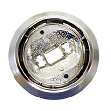 1969-76 DOME LIGHT BEZEL ROUND (ea)