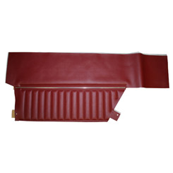 1969 DOOR PANELS, REAR, IMPALA, 2 DR HT, RED (pr)