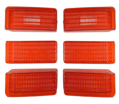 1970 TAILLIGHT KIT (lenses only)(set of 6)
