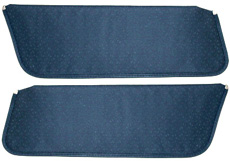 1971-72 SUNVISORS, HT, PERFORATED,  DK BLUE