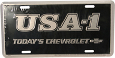 LICENSE PLATE, TODAYS CHEVROLET