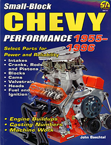 SMALL BLOCK CHEVY PERFORMANCE 1955-1996 (ea) (limited supply)