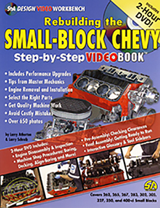 REBUILDING THE SMALL BLOCK CHEVY: Step-by-Step Videobook (ea) (limited  supply)