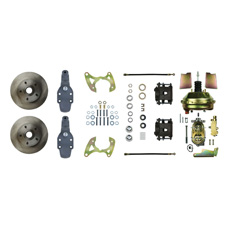 1965-70 FRONT DISC BRAKE CONVERSION KIT WITH 2